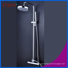 Fyeer Fashion Design Solar System Thermostatic Rainfall Shower Faucet