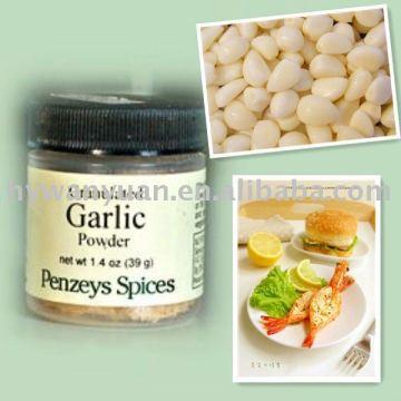 alimentos liofilizados grânulos de alho