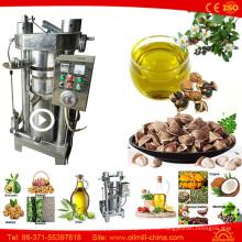 Máquina de la prensa en frío del cacahuete del coco de la calabaza de la extracción del aceite de sésamo