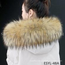 Fur Stripe and Fur Collars Esyl-48A