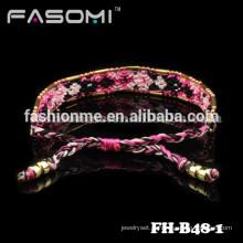 Guangzhou Boêmia estilo algodão amizade charme pulseira