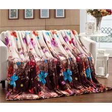 Оптовая Продажа Горячая Распродажа Печатных Flance Супер Удобные Одеяло