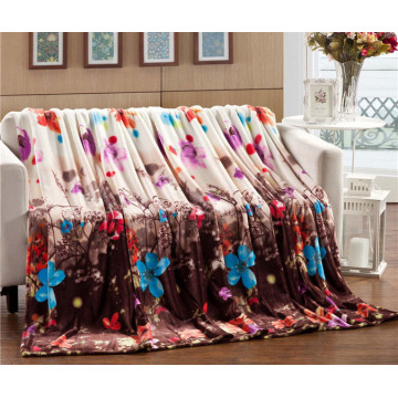 Wholesale Hot Sale Printed Flance Super Comfortable Blanket
