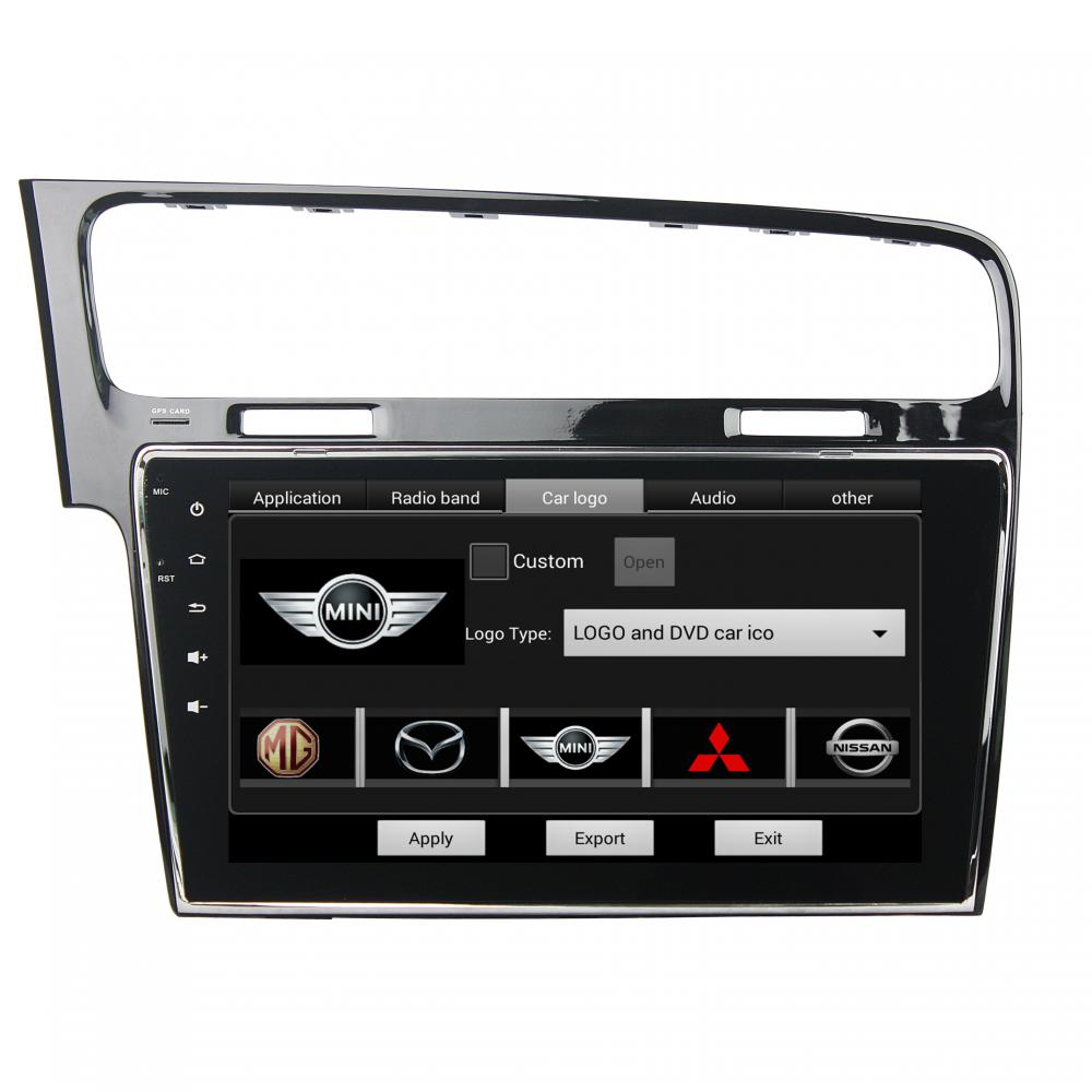 Golf 7 2013-2015 10,1 pulgadas reproductor de dvd