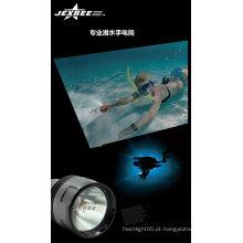 China atacado H3 Tactical militares lanterna auto-defesa armas cree 2500 lumens marinho levou holofote