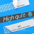 Adhesivo de acrílico promocional vacío etiqueta alibaba al por mayor