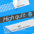 Trade Assurance scratch off label sticker com função estável