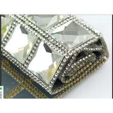 Malla de diamantes de imitación Hot Fix