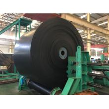 Used rubber conveyor belt
