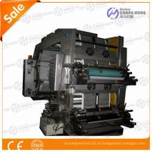 Máquina de impressão flexográfica de tipografia de 4 cores CH Series