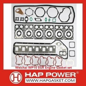 Weichai WP10 EGR Engine Gasket set EuroIII