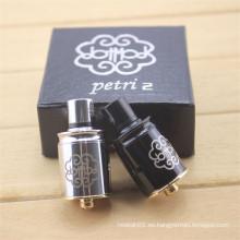 Petri Rda E-Cigarette Atomizer para el vapor con el kit de la caja (ES-AT-102)