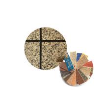 Copos de granito multicolor para pintura en spray