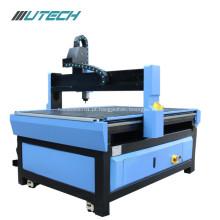 Máquina de processamento de madeira acrílica do MDF do Cnc 9012 6090