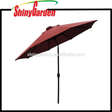 Paraguas impreso Golf plegable de aluminio