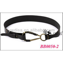 Black Vintage Genuine Leather Belts Cow Leather Belts Wholesale With Size 4.25cmW*84cmL BB0050-2