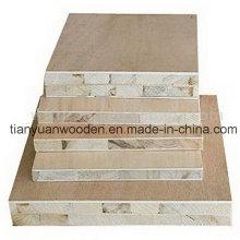 15mm 16mm 17mm Placage au bois Panneaux lattés - panneaux blocs