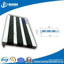 Carborundum Insert Aluminum Stair Nosing