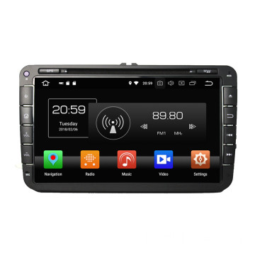 Android autoradio voor Passat Golf Caddy Polo Touran