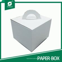 2015 nouvelles boîtes de gâteau imprimées par coutume de conception