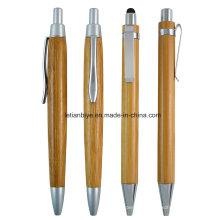 Caneta Esferográfica De Madeira Maple, Caneta Stylus De Madeira (LT-C800)