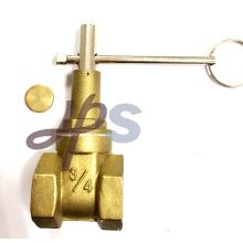 Válvula de porta lockable de bronze FORGE PN16 (HG24) Válvula de porta lockable de bronze FORGE PN16 (HG24) Especificação: