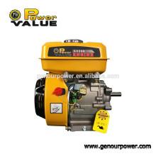Power Value Taizhou бензиновый двигатель Gx200 6.5HP, OHV двигатель 4 ход с муфтой для продажи