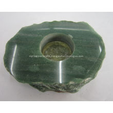 Green Aventurine Gemstone Candle Holders And Lamp