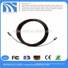 Digital Optical Optic Fiber Toslink Audio Kabel 5m OD 2.2mm