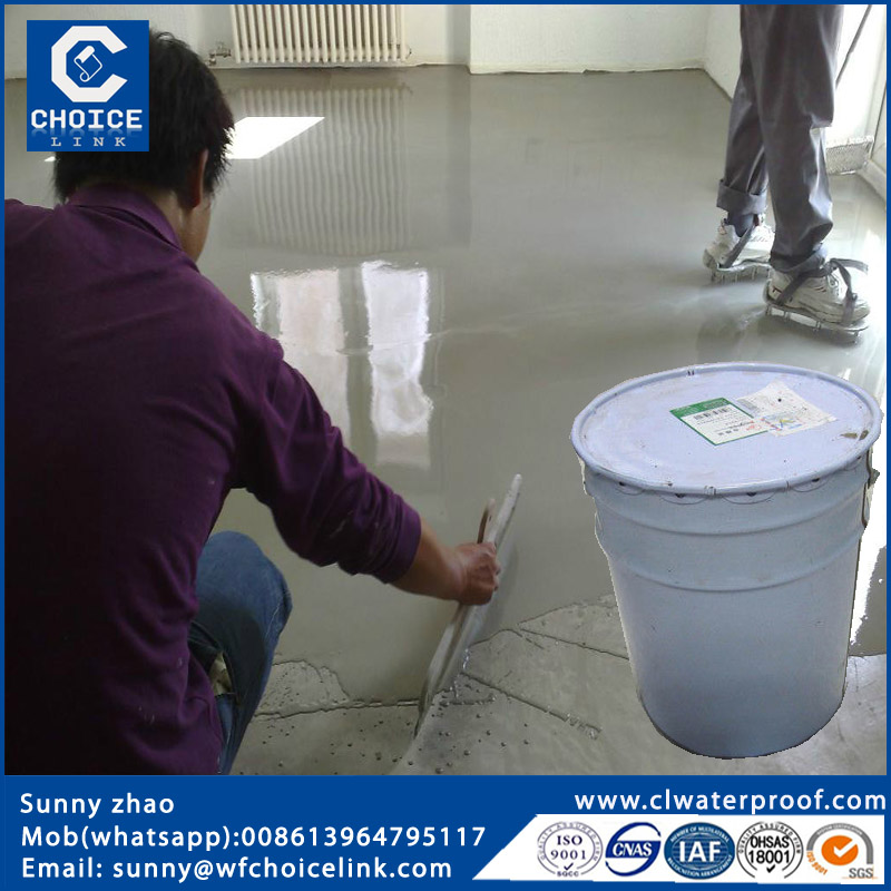 Polyurethane waterproofing coating with solvent based