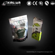 Alta calidad de China se levantan gusset lado bolsa, lado del lado sellado bolsas de té / bolsas de vacío