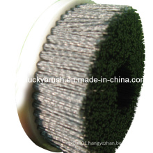 5 Inch Plastic Holder Nylon Abrasive Round Brush (YY-057)