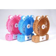 Mini ventilador recarregável DC de 4 ''