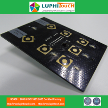 Professional for PCB/FPC/PET Assemblies Gold Plating Buttons Pads PTH Connector PCBA supply to Netherlands Suppliers