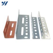Suporte de aço de ângulo de furos de linha dupla HDG