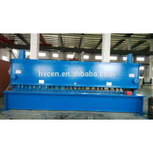 sheet metal specifications qc11y-6*2500/cutting machine sheet