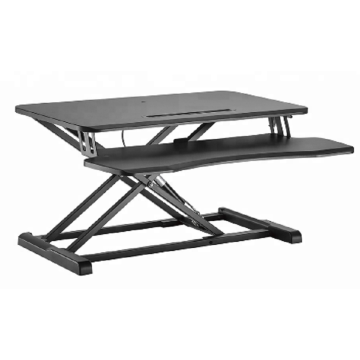Quality for Small Corner Lifting Desk Adjustable Convert Desk To Standing Computer Station supply to Turks and Caicos Islands Supplier
