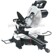 """255mm 10 """"1900w Power Madeira / Alumínio Máquina de Corte Electric Sliding Miter Saw"""