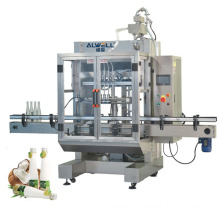 Free Shipment Price Automatic Bottled Sunflower Olive Vegetable Cooking Coconut Oil Filling Machine