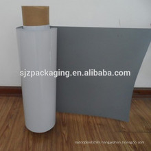 inkjet printing PET white film backing grey