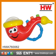 2015 Hot Selling with light and music baby saxophone