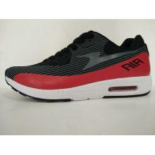 Lässige schwarze rote Md / Rb Outsole Männer Sport Sneakers