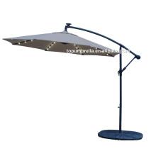 De buena calidad con el mejor diseño Paraguas de jardín sombrilla al aire libre paraguas llevado