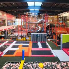 Indoor-Kindertrampolinpark