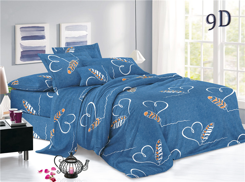 Plain Printed Polyester Bed Sheets