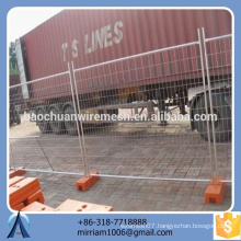 Australia standard hot-dipped galvanized Powder coated welded temporary fence panel