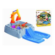 Juego de verano juego niños de plástico arena de playa de juguete (h1336165)