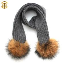 Kid Модные Оптовые Высокое качество Lovely Warm Kids Вязание Шарф для зимы