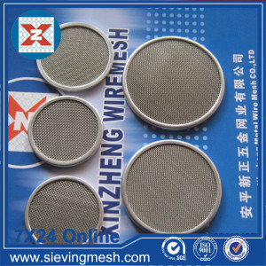 Black Wire Filter Cloth Disc