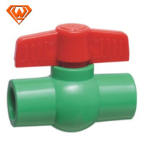 China price plastic PVC PPR double union check ball valve